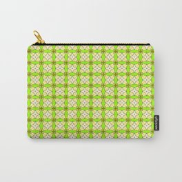 Lovely vintage Pattern green Carry-All Pouch