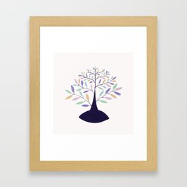 tree of intuition Framed Art Print