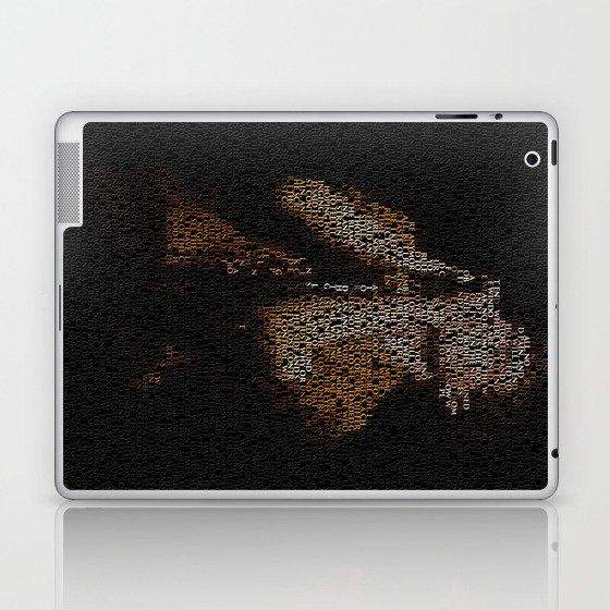 Ian Curtis : Unknown Pleasures Laptop & iPad Skin