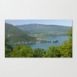 TS Lake Canvas Print