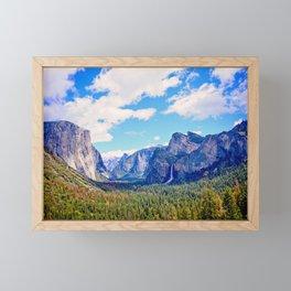 Yosemite Valley Framed Mini Art Print