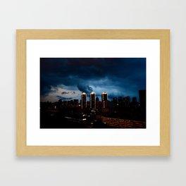 City Mood Framed Art Print
