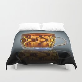 In Search Of The Holy Ale. Duvet Cover