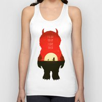 wild things Tank Tops featuring Wild Things by Duke Dastardly