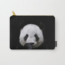 Cute panda bear portrait  Carry-All Pouch