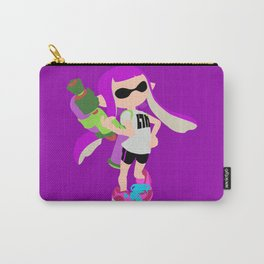 Inkling Girl (Purple) - Splatoon Carry-All Pouch