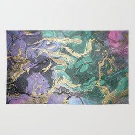 Liquid Splash Of Colors Rug
