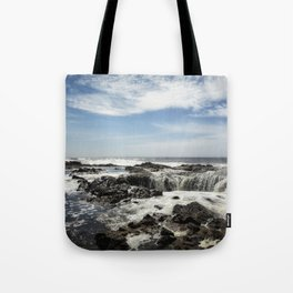 Thor's Well, No. 1 Tote Bag