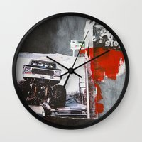 bigfoot Wall Clocks featuring Bigfoot by six inch stiletto