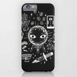 I See Your Future: Glow iPhone Case