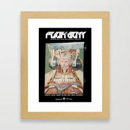 FUCK2011 ANALOG zine Framed Art Print