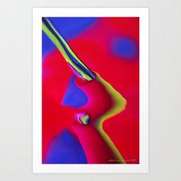 Broken Artery Art Print