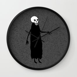 Skeleton Spirit Wall Clock