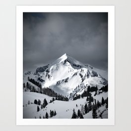Black and white - Landscape and Nature Photography Art Print Art Print