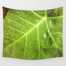 Alocasia After the Rain Wall Tapestry
