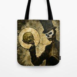Shadow Man Tote Bag