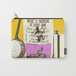 MUSIC IS MEDICINE Carry-All Pouch