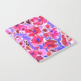 Isla Floral Purple Notebook