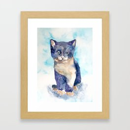 cat#12 Framed Art Print
