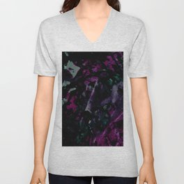 Galactic Print Unisex V-Neck