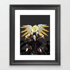 heroes never die Framed Art Print