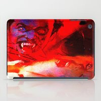 dracula iPad Cases featuring count dracula by shiva camille