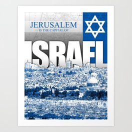 Jerusalem, Israel Art Print