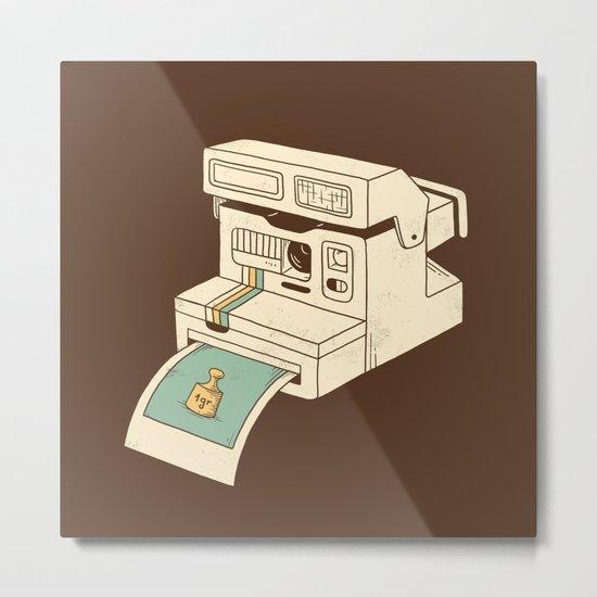 Insta gram Metal Print