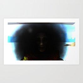 Fly: Smoky Eyes Art Print