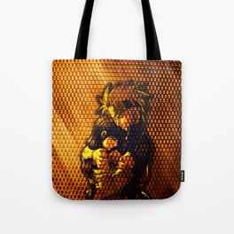 hinata and naruto Tote Bag