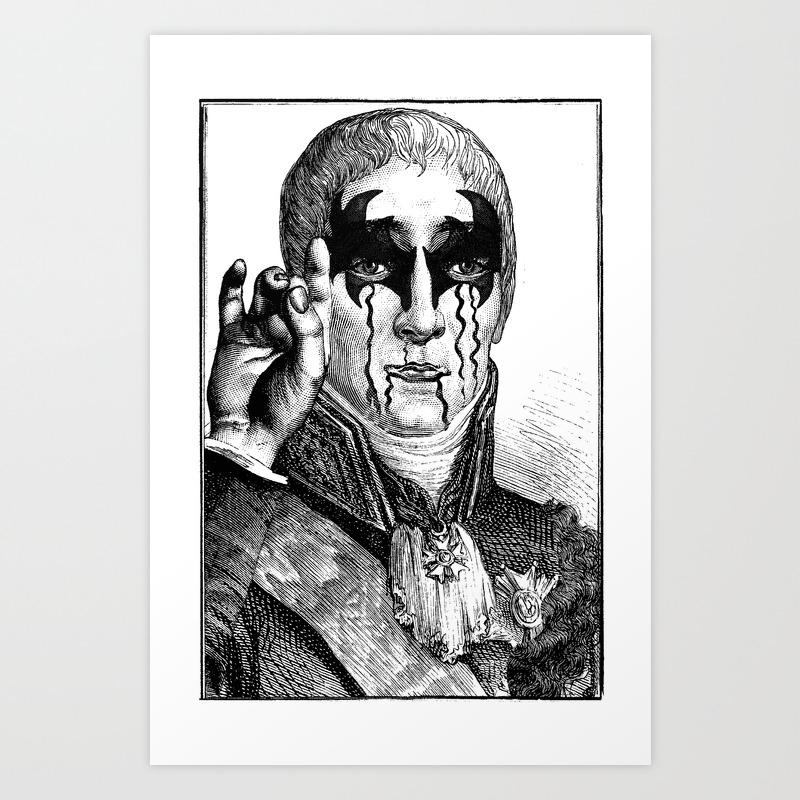 Heavy Metal Art Print By Dividus Society6