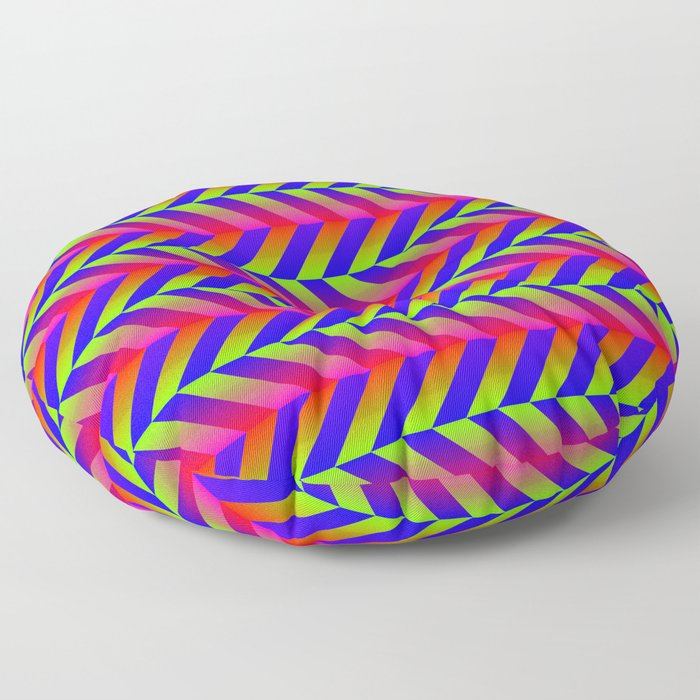 Zig Zag Folding Floor Pillow