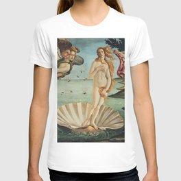 Sandro Botticelli - The birth of Venus (La nascita di Venere) T-shirt