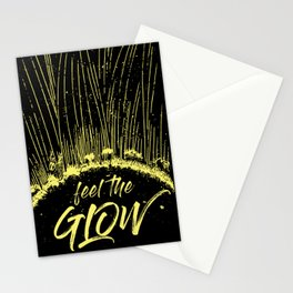 Feel the Glow // moonlight version Stationery Cards