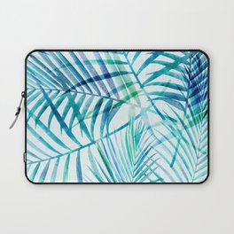 Tropical Palm Pattern Laptop Sleeve