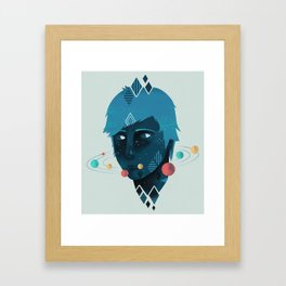 Mind/Space Framed Art Print