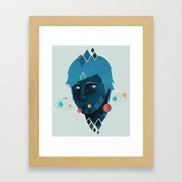 Mind/Space Framed Art Print