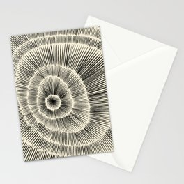 Hand Drawn Patterned Abstract III Stationery Cards