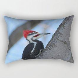 Wood Pecker Rectangular Pillow