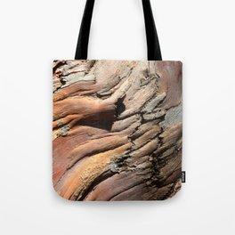 Eucalyptus tree bark texture Tote Bag