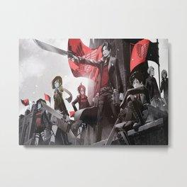 Attack on titan Metal Print