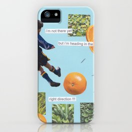 right direction iPhone Case