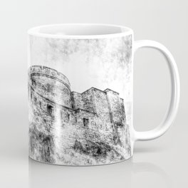 Edinburgh Castle Vintage Coffee Mug