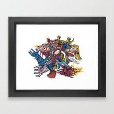 Already died - Print available!! Framed Art Print
