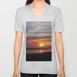 Autumn sun Unisex V-Neck