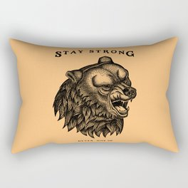 STAY STRONG NEVER GIVE UP Rectangular Pillow