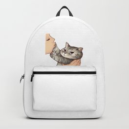 cat : hmmmmm! Backpack