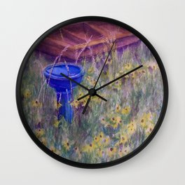 Summer Gems WC150551-13 Wall Clock