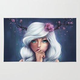 White-haired Girl Rug