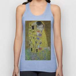 The Kiss - Gustav Klimt, 1907 Unisex Tank Top